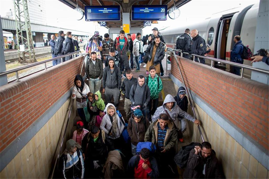 Flüchtlinge Köln