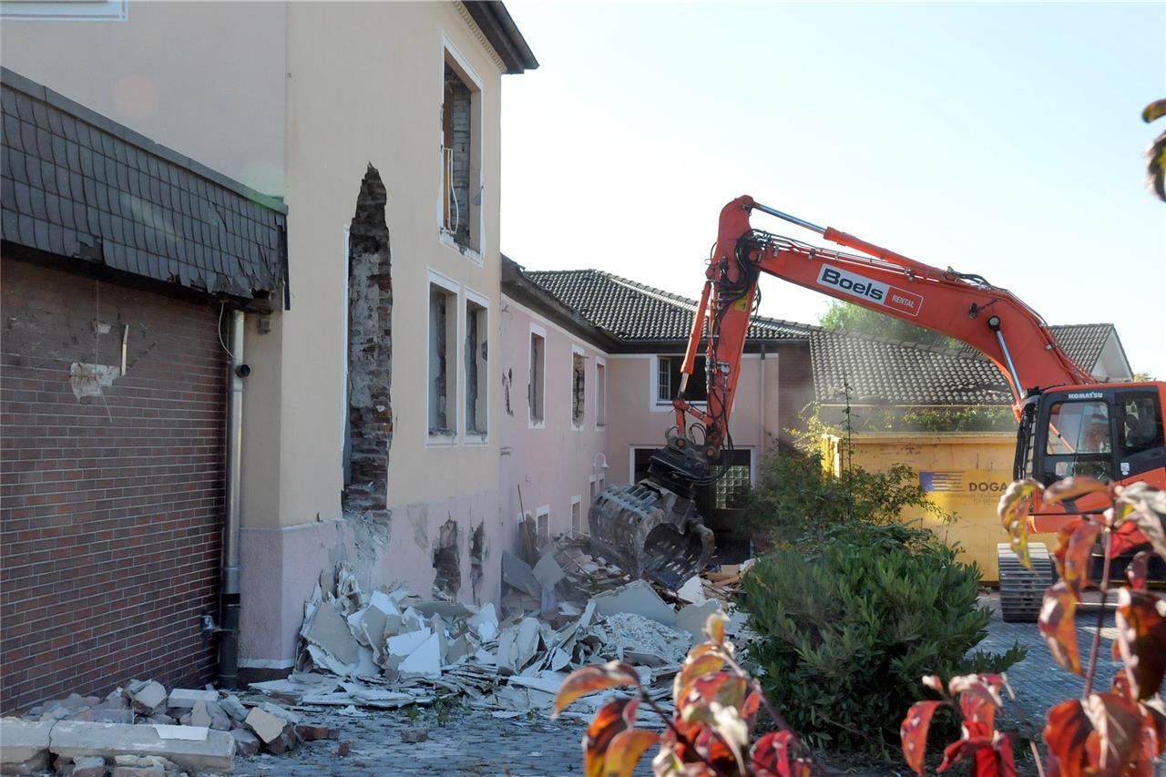 Das Ehemalige Hhkt Gebäude Wird Abgerissen Und Weicht Einem Bauprojekt