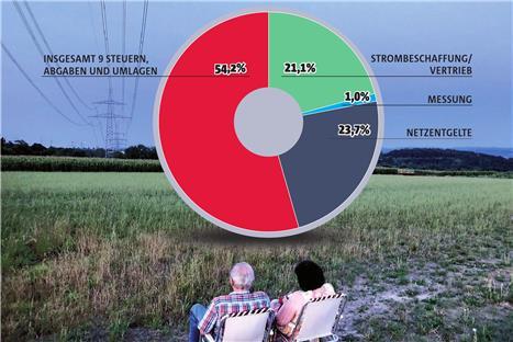 Strom gas wasser kosten single