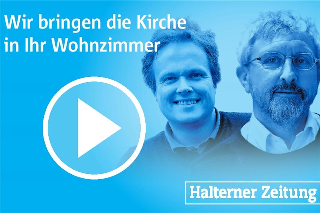 Per Videostream: Gottesdienste am 13. September in Haltern am See