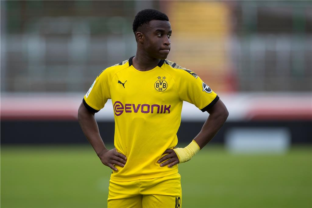 BVB-Talent Youssoufa Moukoko.