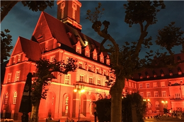 Night of light, Rathaus Bottrop, 20.6.2020