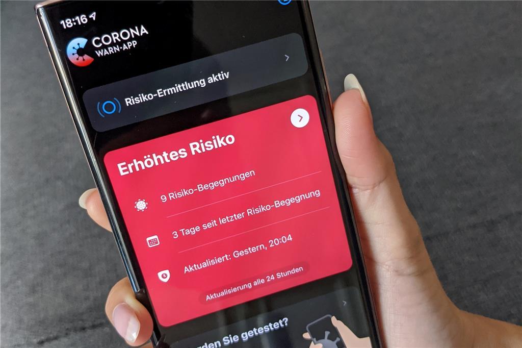 Corona App Begegnungen Anzeigen