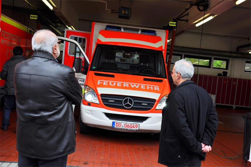 Rettungswagen Fahren