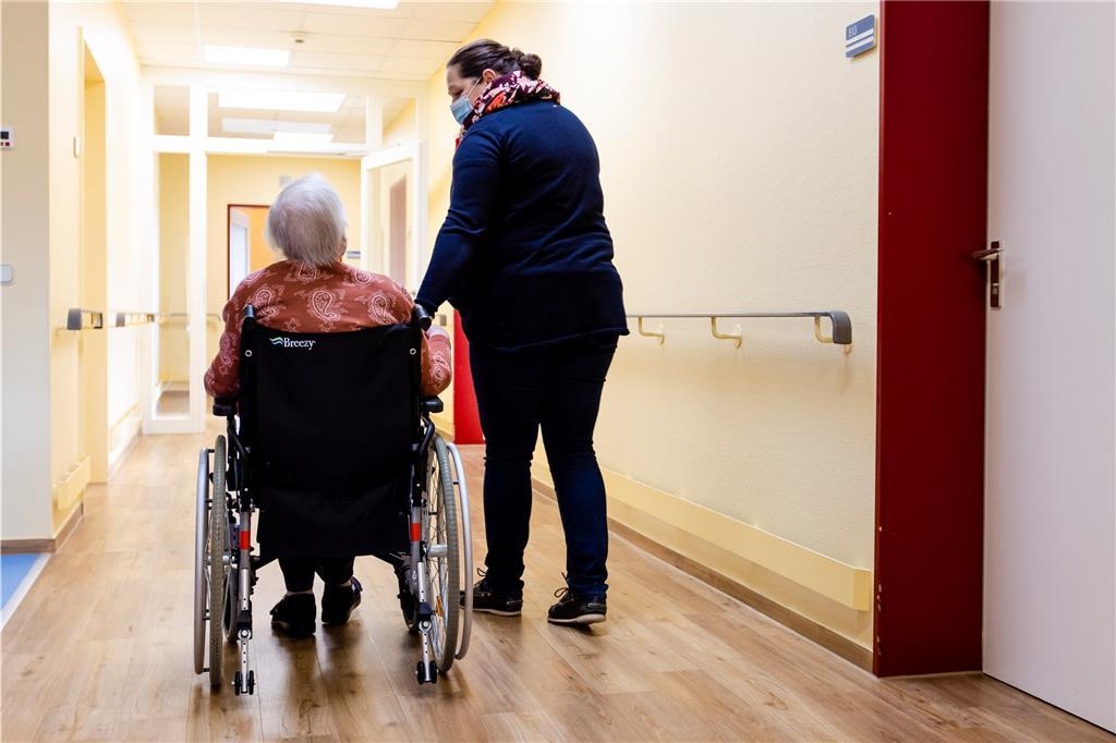 Besuch In Pflegeheimen