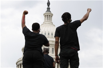 Black Lives Matter, Protest in Washington