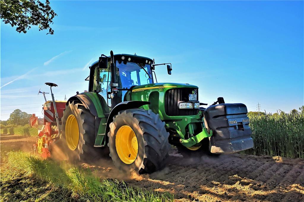 Landwirt aus dem Norden des Landes