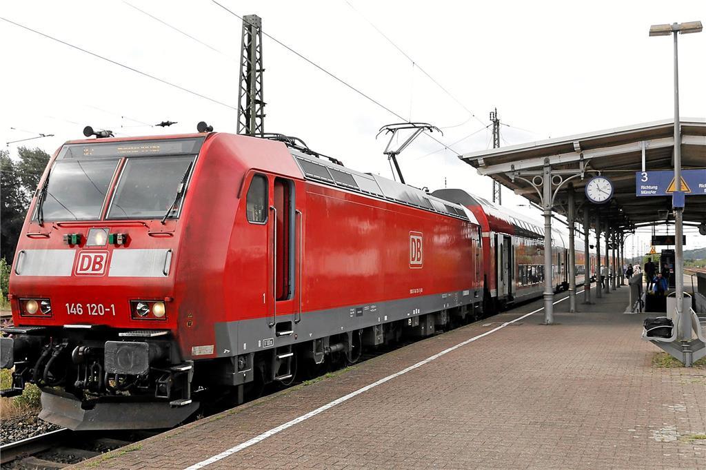 Bahn Sperrung In Essen Hat Auswirkungen Auf Abfahrten Aus Haltern Am See