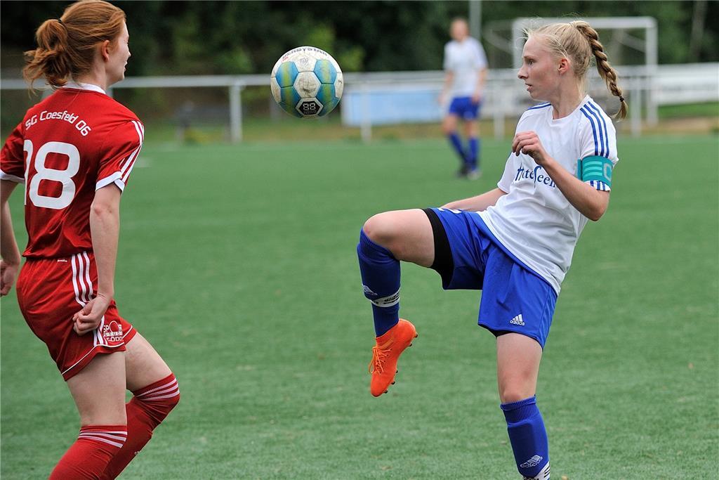 Concordia Flaesheims Fussballerinnen Sind Bereits Zum Siegen
