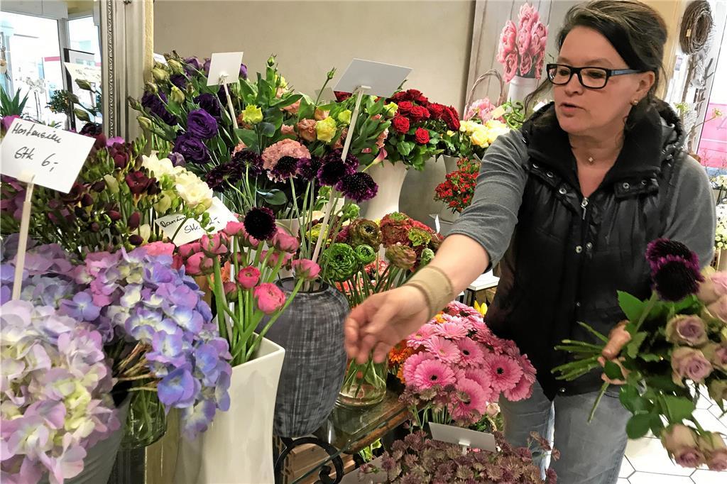 Nur Blumenstrausse Binden Reicht Nicht Mehr