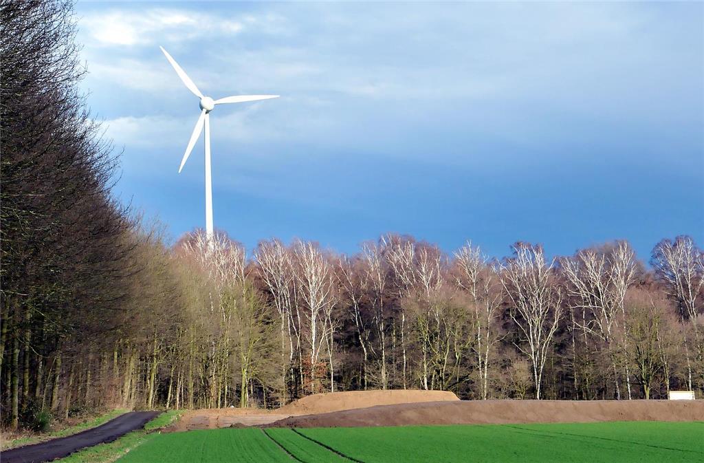 Bau Des Windparks Hat Begonnen